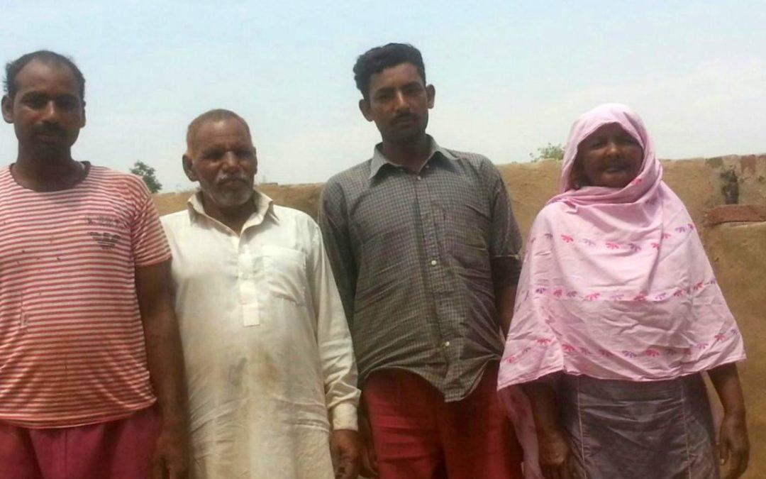 Rehmat Masih Family – 4 people – 26 years