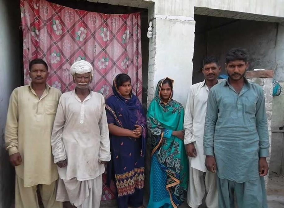 Varyam Masih family – 6 people – 10 years