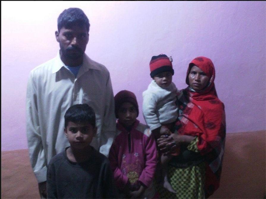 Munzoor Masih Family – 5 people