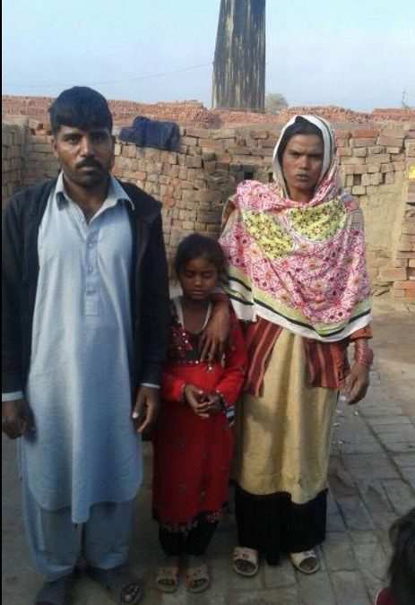 Younas Masih  Family – 3 people – $1850 USD