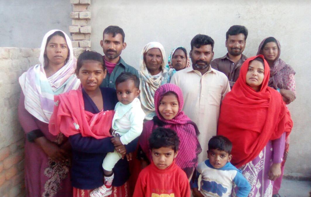 Shamoan Masih Family – 13 people – $2000