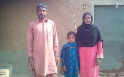 Aslam Masih – 3 people – $1700USD