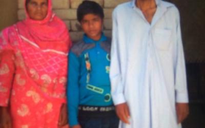Rafiq Family – 3 people – $640 USD