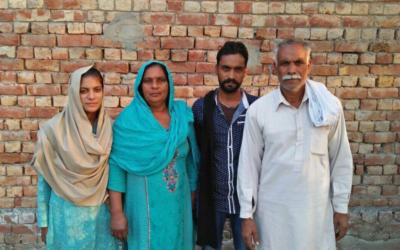 Allah Ditta Family – 4 people – $940