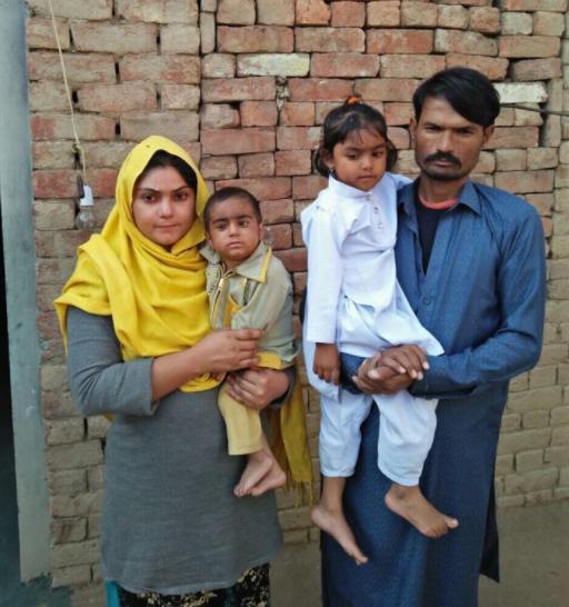 Imran Masih Family – 5 people – $1000