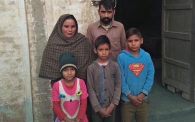 Saleem Masih Family – 5 people – $500USD