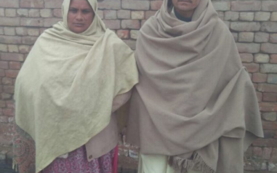 Ashiq Masih Family – 2 people – $400USD