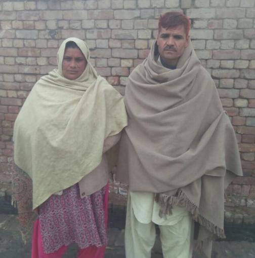Ashiq Masih Family – 2 people – $400USD