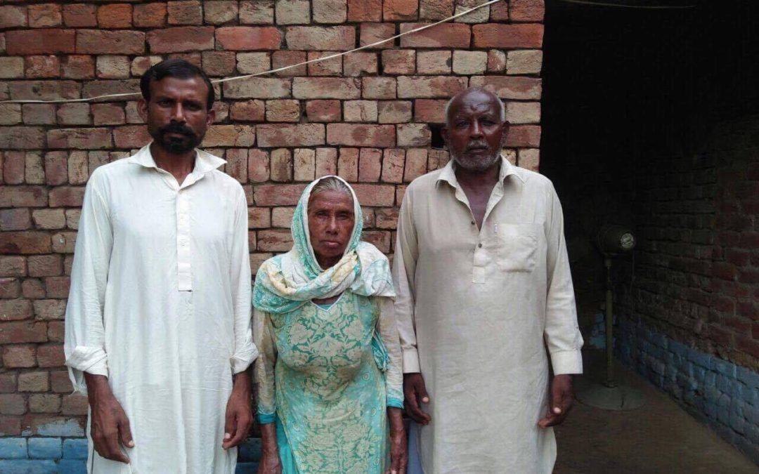 Bashir Masih family – 3 people – $820 USD