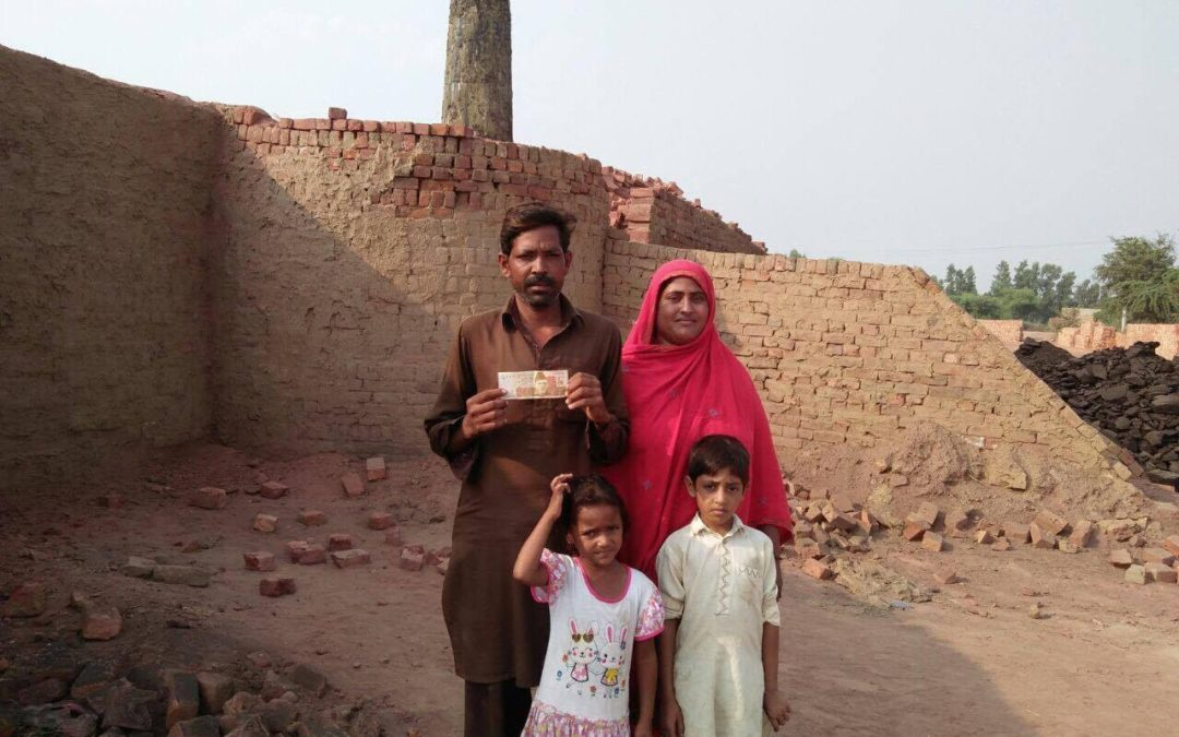 Karamat Masih family – 4 people – $620 USD