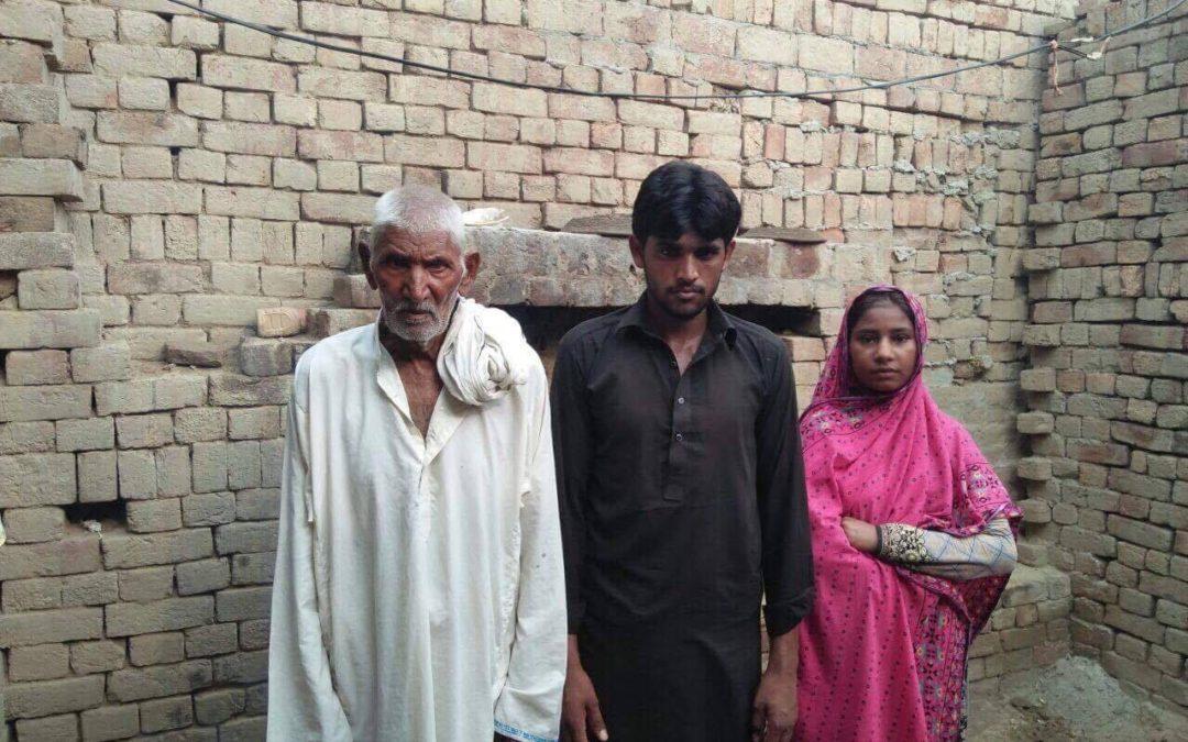 Noranjan Masih family – 3 people – $930 USD
