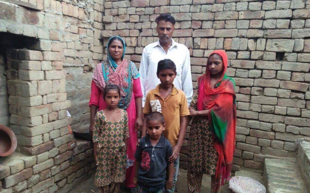Sadar Masih family – 6 people – $940 USD
