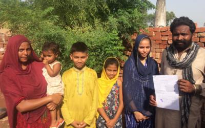 Haroon Family – 6 people – $1600 USD