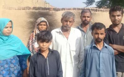 Arif family – 7 people – $950 USD