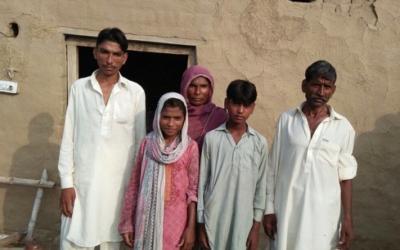 Rehmat family – 5 people – $1000 USD