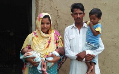 Babar Masih family – 5 people – $820 USD