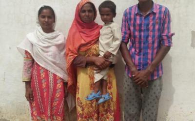 Allah Wasaya family – 4 people – $420 USD